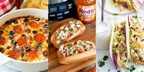 the ultimate super bowl food ideas list 165 recipes 18 best super bowl slow cooker recipes crockpot food