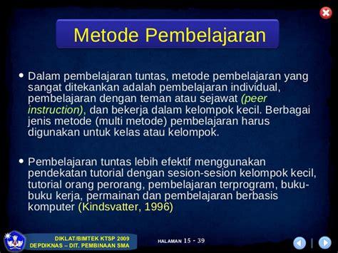 pembelajaran tutorial adalah pembelajaran tuntas remedial pengayaan