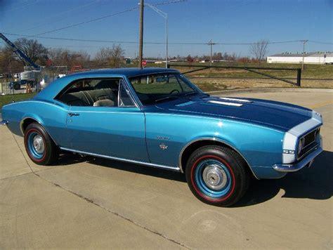 Marian Blue 1967 yutivo camaro original colour