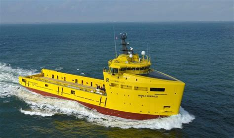 platform supply vessel platform supply vessel 3300 quot world emerald quot deliveries