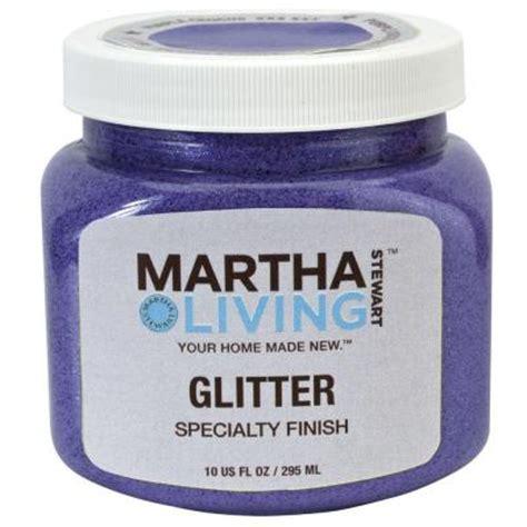 martha stewart living 10 oz purple crocus glitter paint hd21 73 the home depot