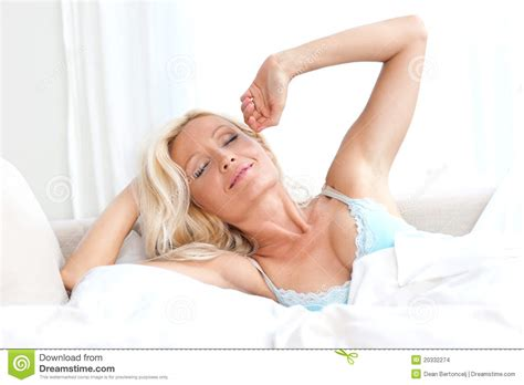 sexy women in bed attractive woman in bed waking up stock images image 20332274