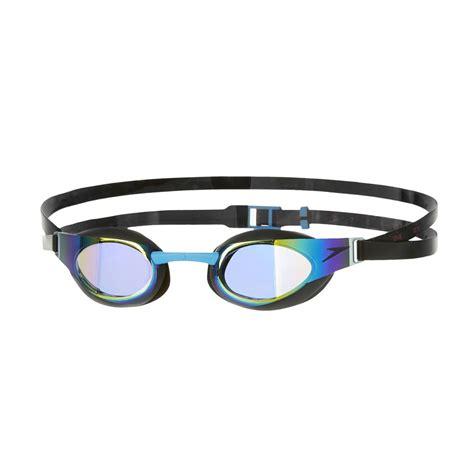junior mirrored swimming goggles speedo fastskin3 elite mirror junior swimming goggles