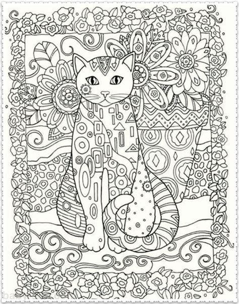Or Adults Cats Coloring For Adults