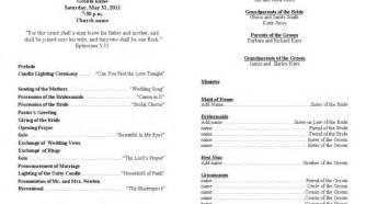 christian wedding ceremony template stunning sles of wedding programs ideas diy wedding