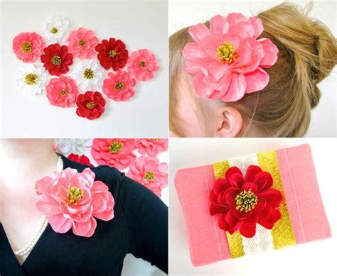 Handmade Crepe Paper Flowers - diy crepe paper flowers oh my handmade