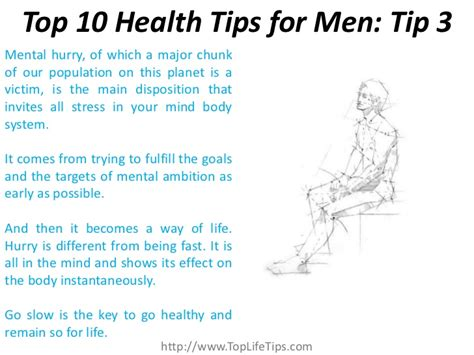 10 Tips For Boys by Top 10 Health Tips For