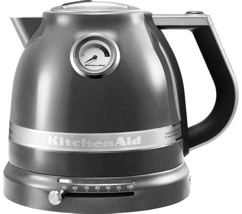 Kitchenaid Artisan Kettle Grey Buy Kitchenaid 5kek1522bms Artisan Jug Kettle Silver