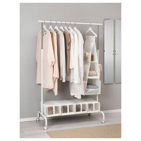 pluring hanging storage with 3 compartments white 30x30x106 cm ikea