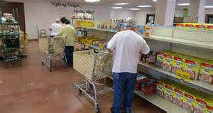 helping of food bank partnership allows for