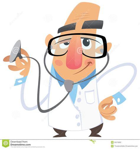 clipart medico medico fumetto illustrazione vettoriale illustrazione