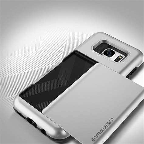 Casing Samsung Galaxy S7 Edge Verus Damda Card Slide Soft Cas Verus Damda Glide Card Slot Skal Till Samsung Galaxy S7