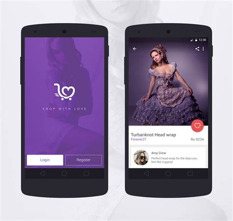 fashion design apps for android android ui for a fashion app materialup
