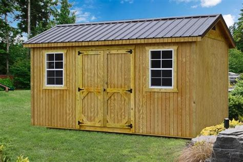 Wooden Storage Buildings Wood Storage Sheds For Sale In Ky Esh S Utility Buildings