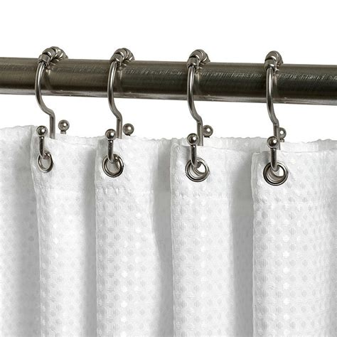 shower curtain rod chrome square shower curtain rod and rings chrome curtain