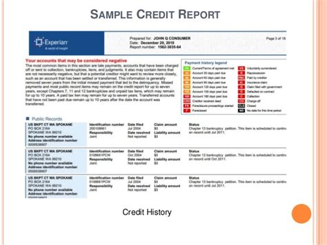 Records On Credit Report Understanding Credit Credit Reports