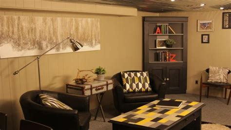 Home Basement Ideas 70s Basement To Swanky Man Cave Knock It Off The Live