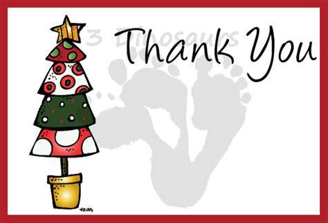 printable christmas thank you cards for teachers free christmas thank you notes 3 dinosaurs