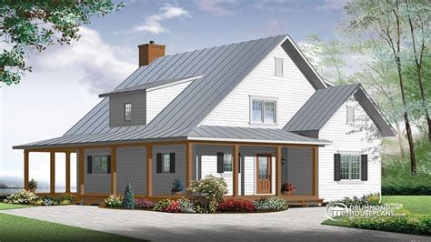 New Farmhouse Plans by Modern Farmhouse House Plan Contemporary Farmhouse Floor