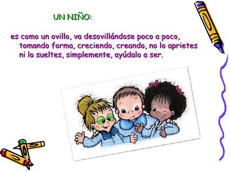 palabras para los jardines de infantes frases para carpetas de jardin de infantes imagui