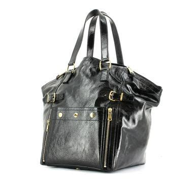 Yves Laurent Ostrich Downtown Purse by Yves Laurent Large Ostrich Downtown Bag Ysl Roady Bag