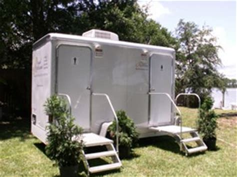 bathroom trailer rental cost toilets the plastics and wedding on pinterest