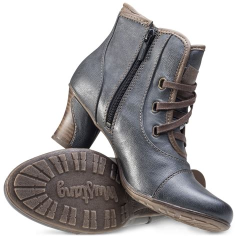 mustang stripe ankle boot womens ankle boots in blue
