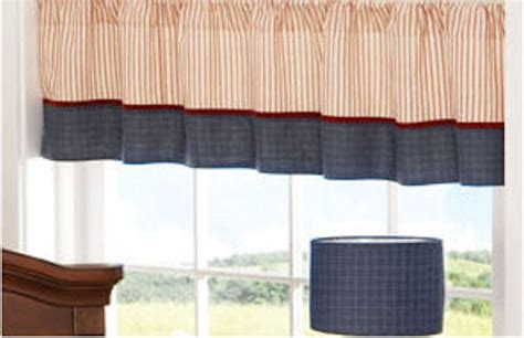 Nautical Valances Window Treatments Nautical Patch Window Valance The Frog And The Princess
