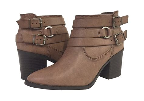 brown moto boots moto ankle boot dark tan brown cat eyes candy