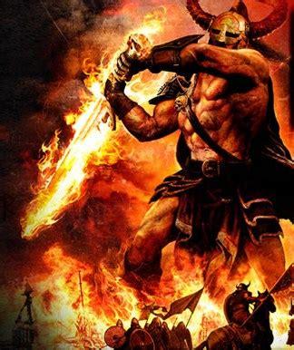 imagenes de hefesto dios del fuego muspelheim reino de los gigantes de fuego dioses h 201 roes