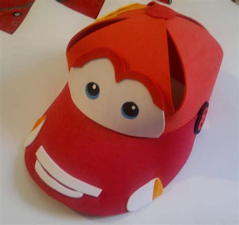 Como Hacer Gorras De Fomix Del Cars | manualidades tiendasoff gorras de cars