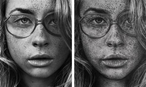 Drawing In Photography by Stunning Photo Realistic Graphite Drawings By