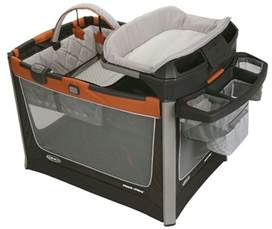 graco baby pack n play playard smart stations crib