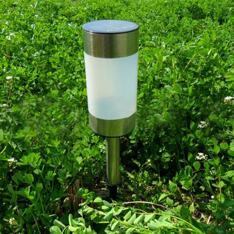 Solar Lights For The Yard Buy Solar Power Gun Barrel Led Garden Light Outdoor Lawn