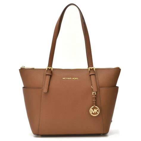 Www Michael Kors De by Bolsa De Couro Michael Kors Jet Set East West Modelo
