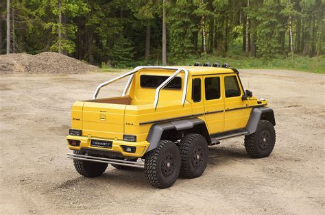 mercedes 6x6 mansory turns to the mercedes g63 amg 6x6