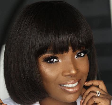 top 10 girls haircut in nigeria 10 nigerian celebrities who slayed in the trending bob