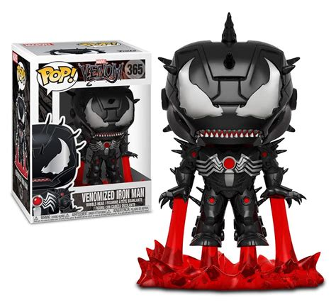 venomized iron man funko pop exclusive avengers game