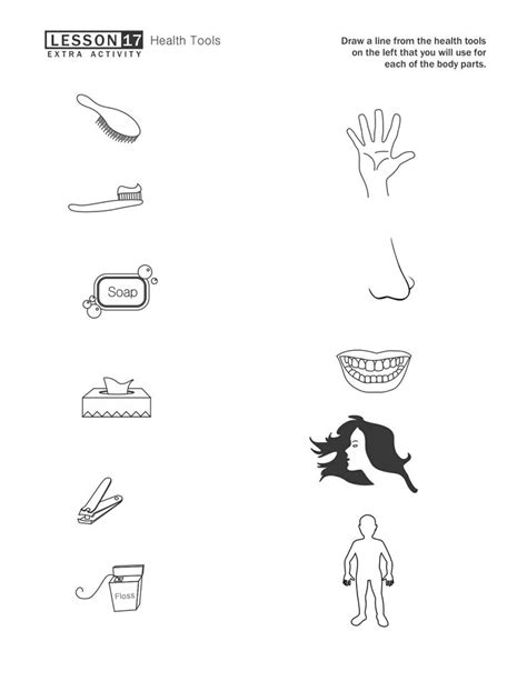 14 Best Images of Kindergarten Hygiene Worksheet - Healthy