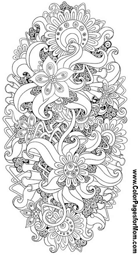 printable zentangle flowers flower abstract doodle zentangle zendoodle paisley