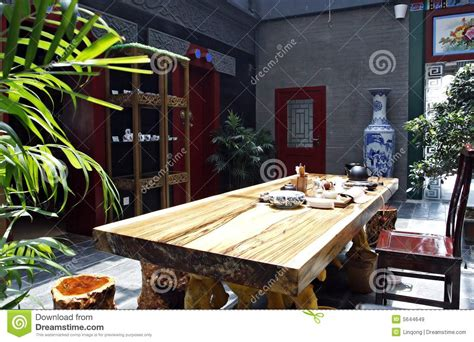 ancient teahouse  china royalty  stock images