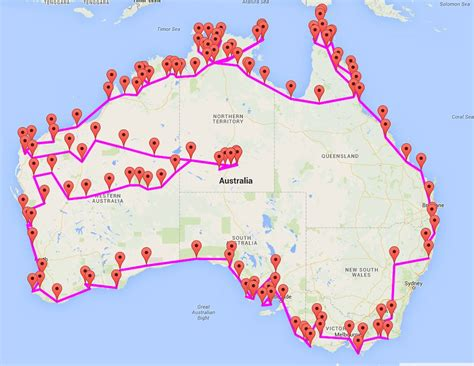 driving map of australia 12 big of australia driving hacks australian traveller