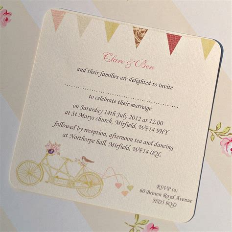 when to send wedding invites uk made for two wedding invitation cards by beautiful day notonthehighstreet