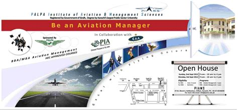 Mba In Aviation Management In Pakistan by Palpa Institute Of Aviation Management Sciences Open