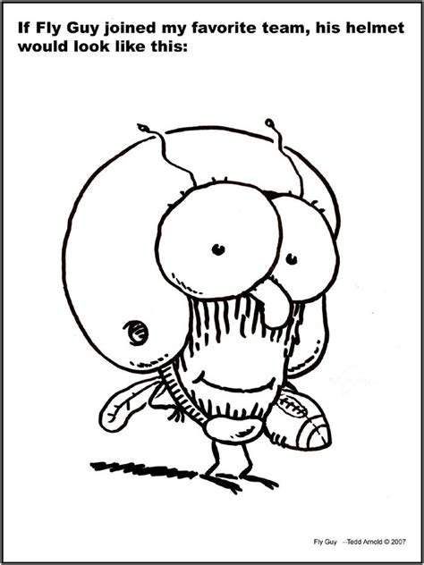 fly guy coloring pages tedd arnold pinterest