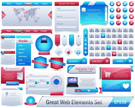 pattern web element vector web design elements design inspiration vexels