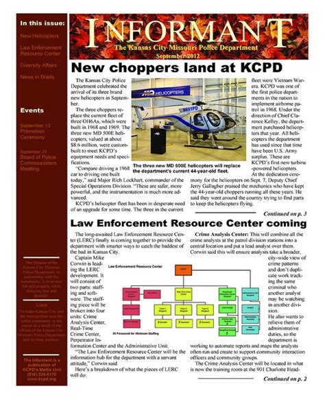 Enforcement Newsletter 1000 Images About Kcpd Monthly Newsletters On