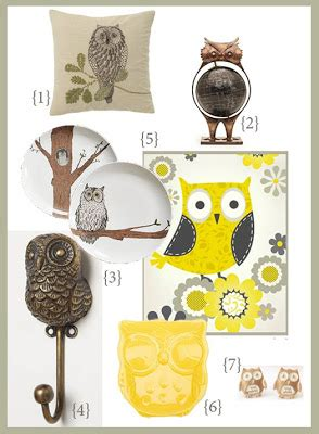 10 Owl Accessories by Owl Home Decor