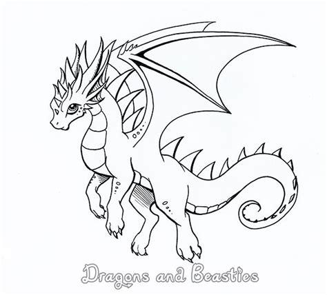 dragon family coloring page inktober by dragonsandbeasties on deviantart