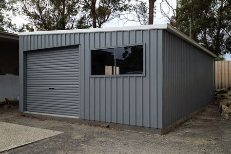 garage roofs skillion roof sheds and garages ranbuild